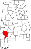 Clarke County, Alabama